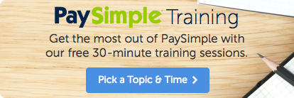PaySimple Training
