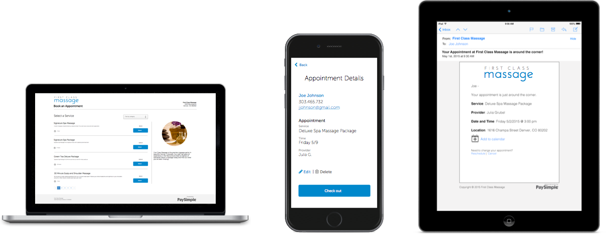 BookSimple is an online scheduling platform that provides booking accessibility across multiple devices.