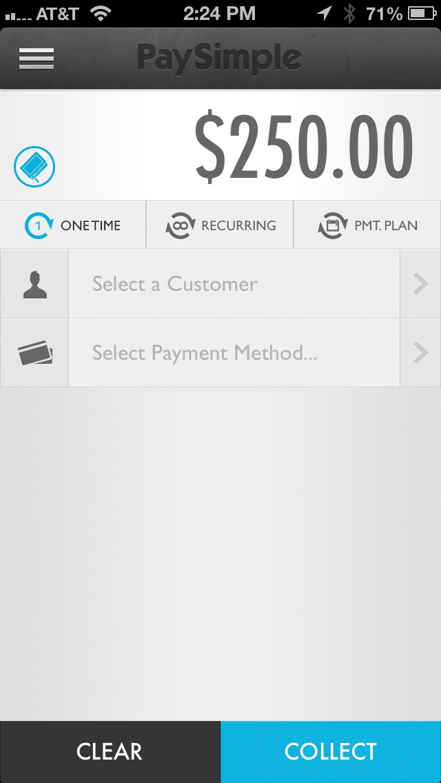 Collect payments from mobile devices