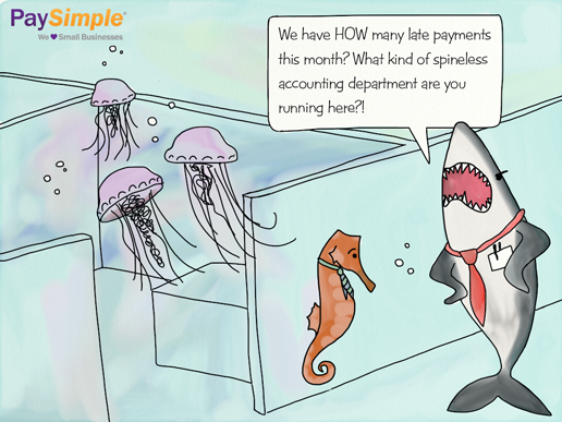 Small Business Humor: Cartoon about a Spineless Billing ...