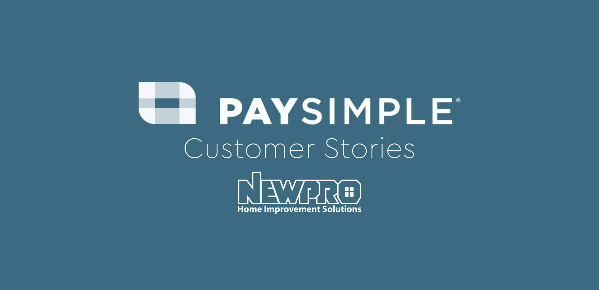 PaySimple + i360: Quick to Profit with Online Mobile Payments for NewPro