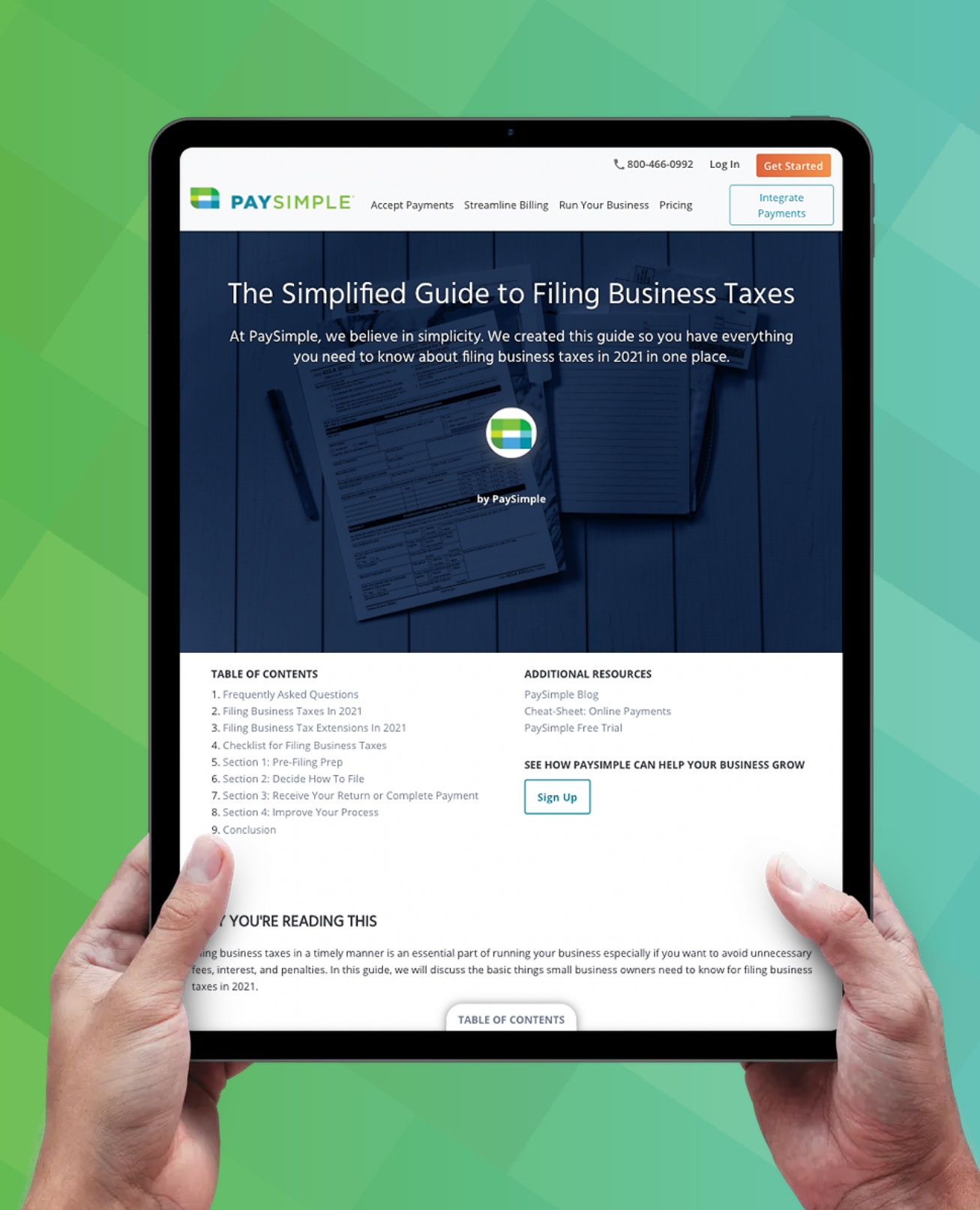 The Simplified Guide to Filing Business Taxes